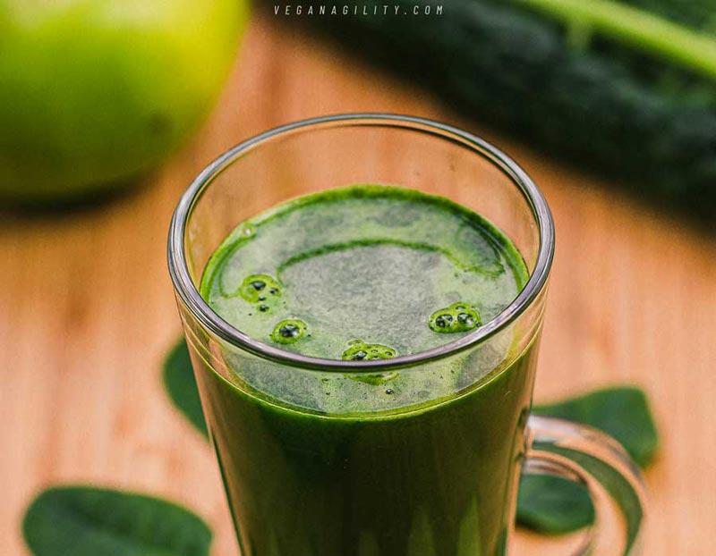 vegan green juice recipe for energy