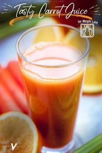 carrot juice recipe for weight loss