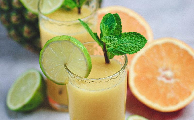 vegan pineapple orange juice recipe