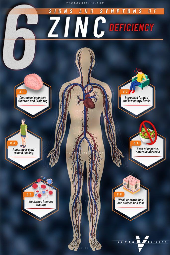 signs of zinc deficiency