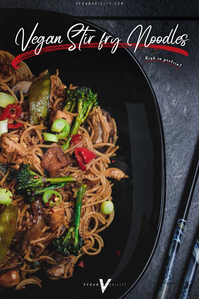 vegan stiry fry noodles recipe
