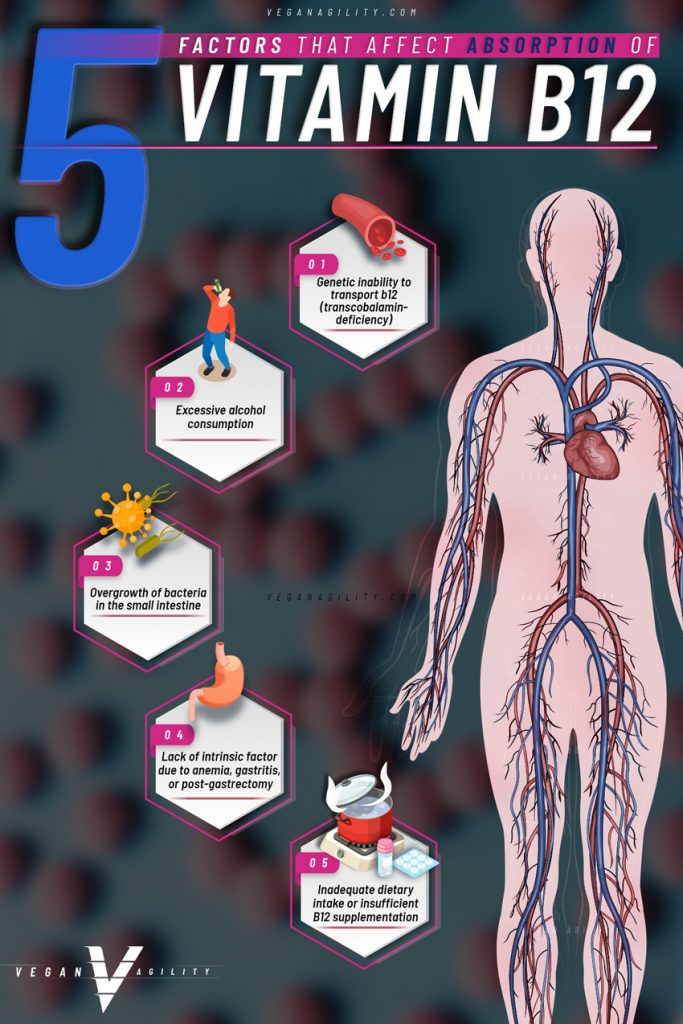 factors that affect b12 absorption