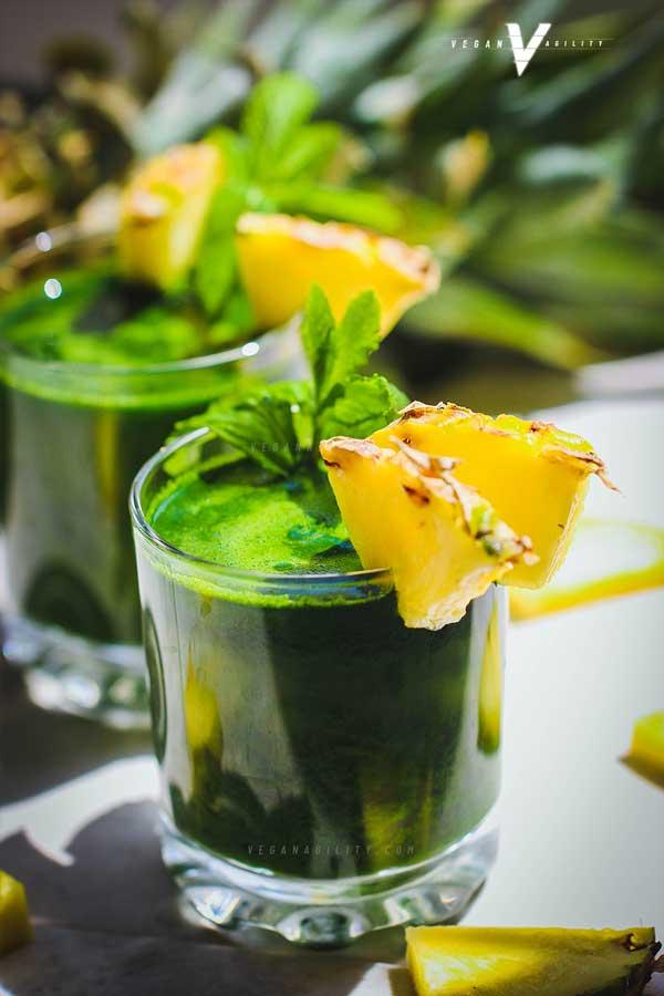 pineapple green juice recipe