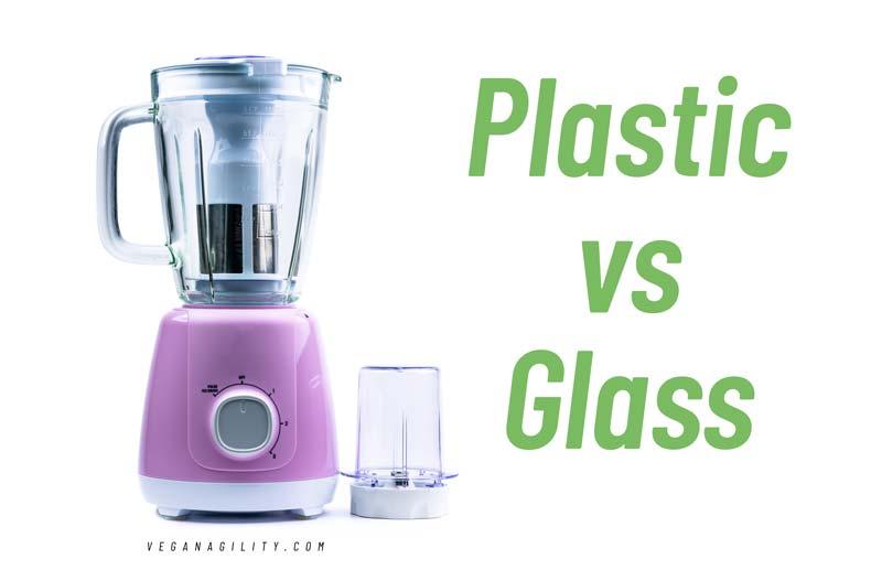 plastic vs glass blenders