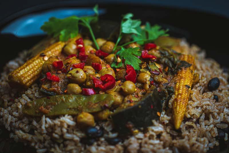 vegan chickpea curry recipe
