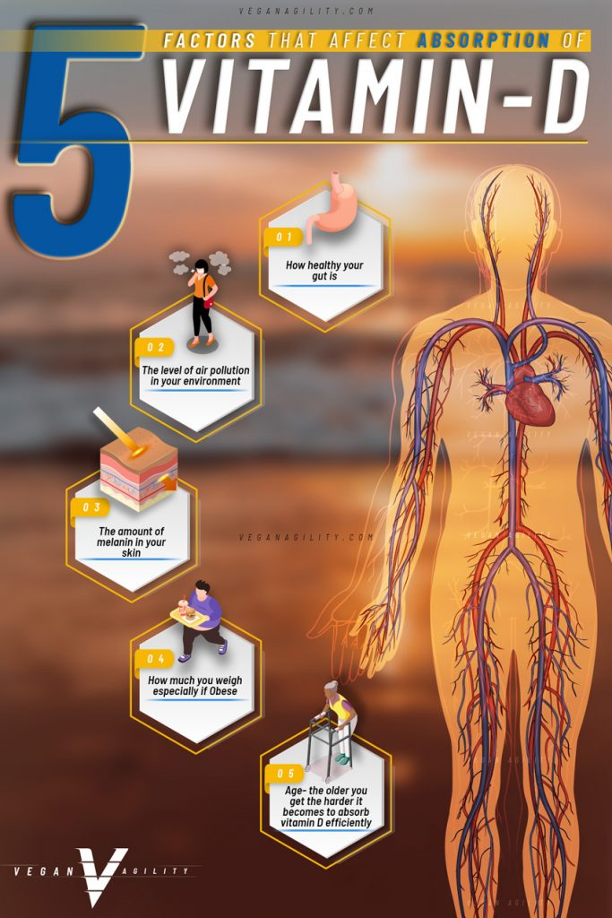 5 factors that affect vitamin d absorption